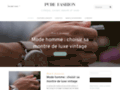 Pure Fashion, boutique de v�tements tendances et fashion