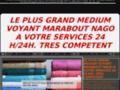 Détails : LE PLUS PUISSANT ET GRAND MEDIUM MARABOUT NAGO