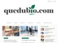 Détails : Quedubio.com