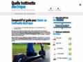 Détails : site web  comparatif trottinettes électriques
