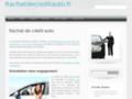 Détails :  Regroupement de prêt auto pas cher