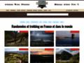 Accueil de Randozone.com, le site de la randonnée et du voyage
