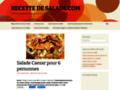 Détails : recette de salade composée