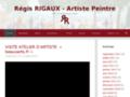 Artiste peintre Regis Rigaux