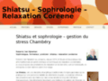 Sophrologie, Shiatsu et do-in  à Chambéry