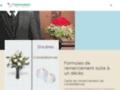 Détails : Carte de remerciement de décès ou de condoléances