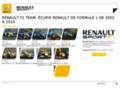 renault sur www.renaultf1.com