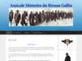 Amicale mémoire du réseau Gallia