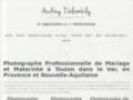 Détails :  Audrey Delambily - Photographe à La Garde (Var) - Accueil