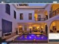 Voir la fiche détaillée : chambre riad marrakech