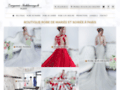 Détails : Robe de mariée et robe de soirée sur Paris