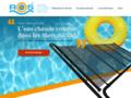 chauffage solaire piscine sur www.roos-solar.com