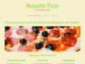 Roquette Pizza, la noblesse à la table