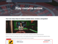 site http://www.roulette-online.org