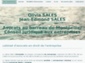 Jean-Edmond Sales SELARL - Avocats Montpellier