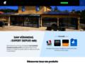 Capture du site http://www.sam-alu.fr