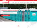 Détails : Location toilettes - Septique Sanibert