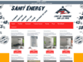 Capture du site http://www.sanit-energy.com