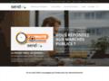 Détails : Sendao  Dépôt électronique appels d'offres