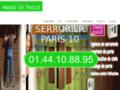 Détails : serrurier paris 10eme