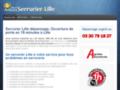 Capture du site http://serruriers-lille.fr/