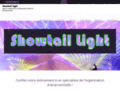 Showtail-light animation dj mariage