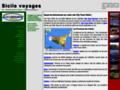 Capture du site http://www.sicilevoyages.it/