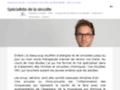 Capture du site http://www.sinusites.fr