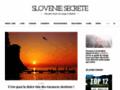Capture du site http://slovenie-secrete.fr