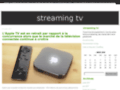 Détails : Streaming tv