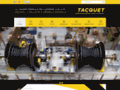 Tacquet Industries : Usinage sur site