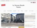 Détails : Restaurant terrasse centre-ville Nantes : La Taverne Royale