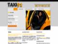 Capture du site http://www.taxi-91.fr