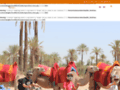 Capture du site http://www.taxi-amarrakech.com