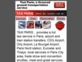 taxi paris sur www.taxi-paris.net