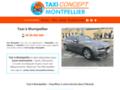 Détails : Taxi à Montpellier conventionné avec Taxi Concept