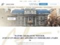Détails : Maître Charlotte TEISSIER, avocat en droit des affaires et immobilier à Paris 16