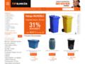 Détails : Contenedores metálicos y de plástico