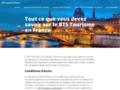 Détails : A propos des formations aux métiers du tourisme