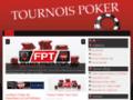 Les tournois de poker mondiaux