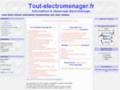 Dépannage electromenager en ligne