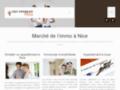 Capture du site http://www.tout-immobilier-nice.com