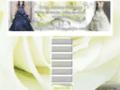 Tout-strass robes de mariée robes de soirée
