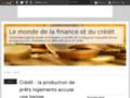 Détails : Crédit : des indications pour faciliter la souscription de prêt