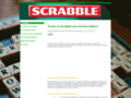Détails : Tricher au scrabble sur trichescrabble.fr