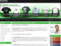 Détails : T-shirts publicitaires