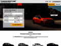 Capture du site http://www.tunisia-rent-car.com