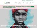Voir la fiche détaillée : Un Enfant par la Main- Parrainage d'enfants