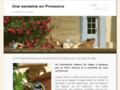une semaine en provence : location maison avec piscine