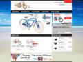 Achat de vélo beach cruiser, vélo chopper et accesoires